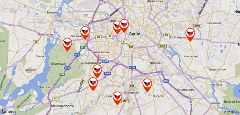 Fuchskarte Berlin