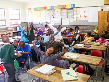 Township Schule in Port Elizabeth