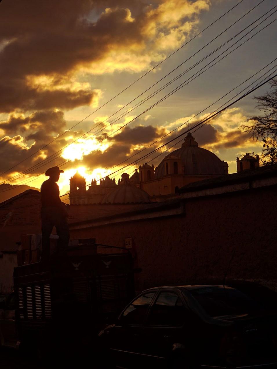 Mexiko Sonnenuntergang