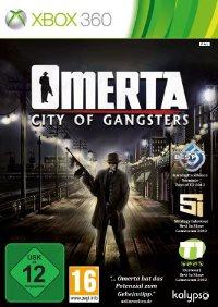 Omerta Xbox 360 Cover