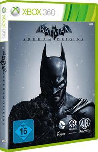 Batman Arkham Origins, Xbox Cover