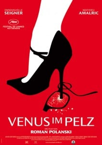 Venus im Pelz Filmplakat. Rechte bei polyfilm
