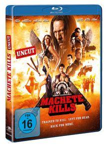 Machete Kills Blu-ray Cover