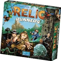 Relic Runners, Cover