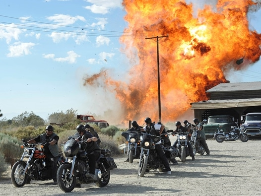 Explosion am Highway