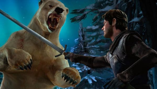 Game of Thrones - Episode 6 - Gared und der Eisbär Shadow