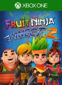 Fruit Ninja Kinect 2 Cover