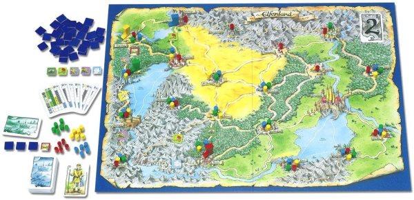 Elfenland - Spielplan