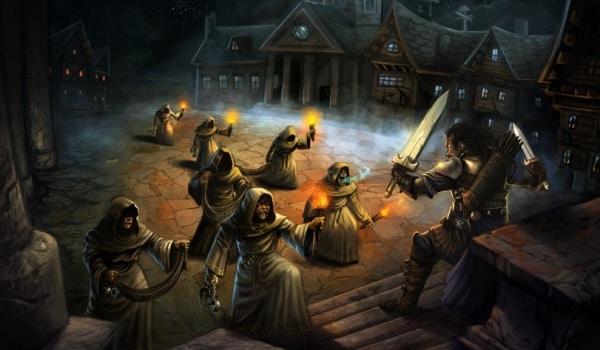 Pathfinder Spielerratgeber - Mögliche Szene vor einem Kampf