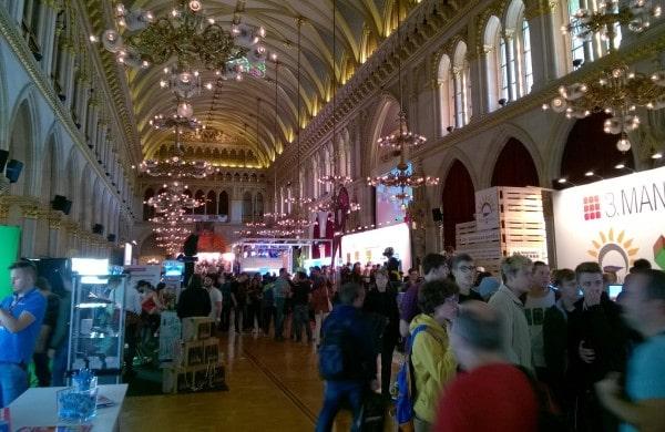 Game City im Wiener Rathaus