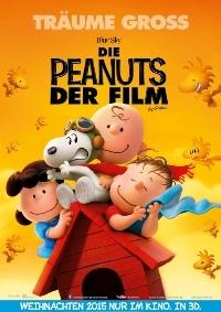 Filmplakat - Die Peanuts - der Film, © 2015 Twentieth Century Fox