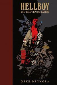 Artbook Cover - Hellboy - Die ersten 20 Jahre, Rechte bei cross cult