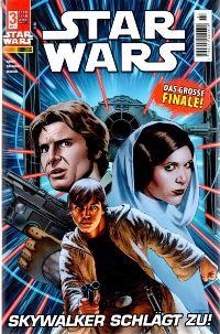 Comic Cover - Star Wars #3: Skywalker schlägt zu, Rechte bei Panini Comics