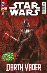 Comic Cover - Star Wars #5: Darth Vader, Rechte bei Panini Comics