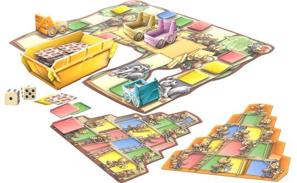 BauBoom - Spielaufbau