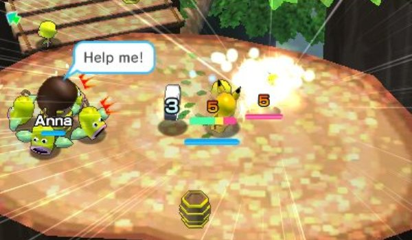 Pokémon Rumble World - Kampf