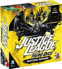 Batman Set - Justice League: Hero Dice, Rechte bei Heidelberger Spieleverlage
