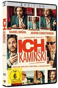 DVD Cover - Ich und Kaminski, Rechte bei Warner Home Video