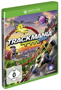 Xbox One Cover - Trackmania Turbo, Rechte bei Ubisoft