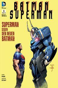 Comic Cover - Batman/Superman #6: Superman gegen den neuen Batman, Rechte bei Panini Comics