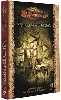 Cover - Cthulhu Investigatoren-Kompendium, Rechte bei Pegasus Spiele