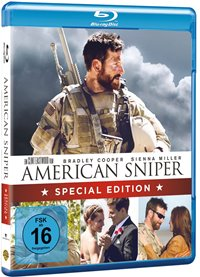 Blu-ray Cover - American Sniper, Rechte bei Warner Bros
