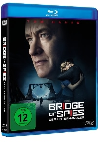 Blu-ray Cover Bridge of Spies – Der Unterhändler, Rechte bei Twentieth Century Fox Home Entertainment