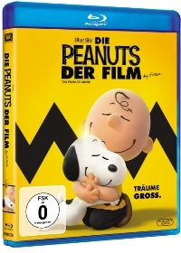 Blu-ray Cover - Die Peanuts - Der Film, Rechte bei Twentieth Century Fox Home Entertainment