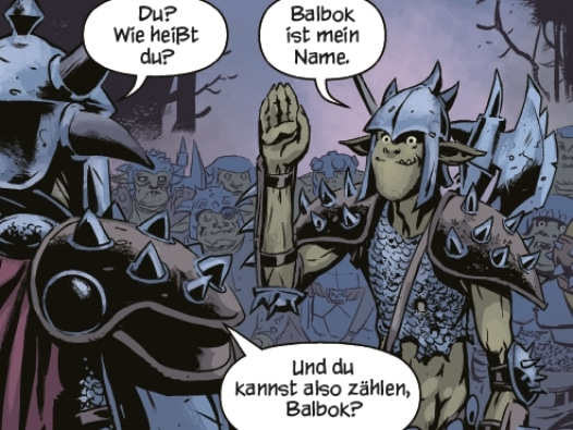 Balbok - Ork Saga 1#: Zwei Brüder, Rechte bei cross cult