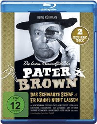 Blu-ray Cover - Die besten Kriminalfälle des Pater Brown, Rechte bei Black Hill Pictures