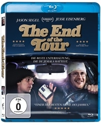 Blu-ray Cover - The End of the Tour, Rechte bei Sony Pictures