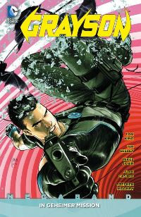Comic Cover - Grayson Megaband #1: In geheimer Mission, Rechte bei Panini Comis