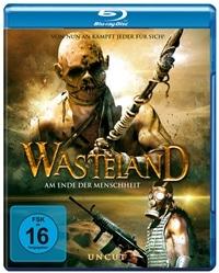 Blu-ray Cover - Wasteland – Am Ende der Menschheit, Rechte bei Tiberius Film