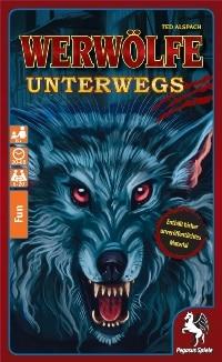 Cover Spielzeugschachtel - Werwölfe unterwegs, Rechte bei Pegasus