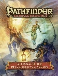 Cover- Almanach der Religionen Golarions, Rechte bei Ulisses Spiele