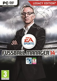 Game Cover - Fussball Manager 14, Rechte bei EA Sports