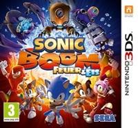 3DS Cover - Sonic Boom: Feuer und Eis, Rechte bei Nintendo / SEGA