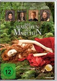 DVD Cover - Das Märchen der Märchen, Rechte bei Concorde Home Entertainment