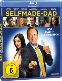 Blu-ray Cover - Selfmade-Dad - Not macht erfinderisch, Rechte bei Concorde Home Entertainment