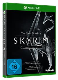Xbox One Cover - The Elder Scrolls V: Skyrim Special Edition, Rechte bei Bethesda Game Studios