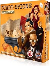Brettspielschachtel - Stadt der Spione: Estoril 1942, Rechte bei Heidelberger Spieleverlag