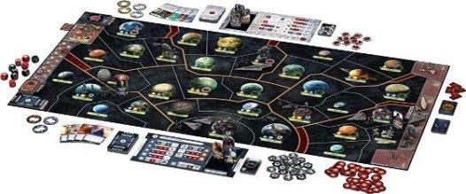 Spielmaterial - Star Wars Rebellion, Rechte beim Heidelberger Spieleverlag