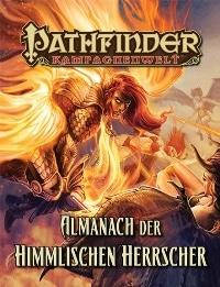 Rollenspielbuch Cover - Almanach der Himmlischen Herrscher, Rechte bei Ulisses Spiele