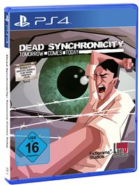 PS4 Cover - Dead Synchronicity: Tomorrow Comes Today, Rechte bei BadLand Games