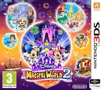 3DS Cover - Disney Magical World 2, Rechte bei Bandai Namco / Disney / Nintendo
