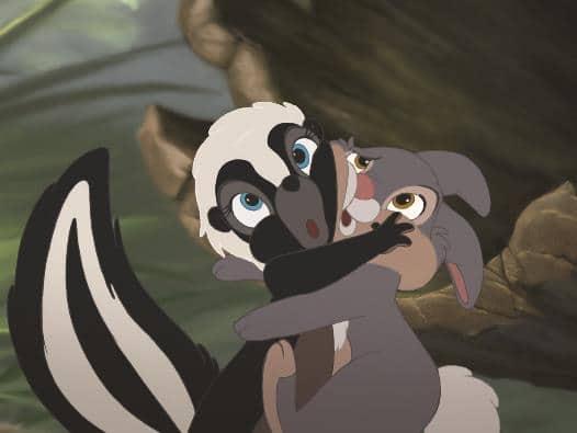 Blume & Klopfer - Bambi & Bambi 2, Rechte bei © 2016 Disney