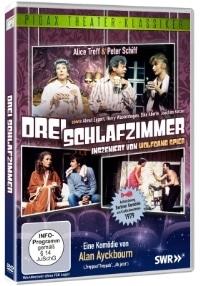 DVD Cover - Drei Schlafzimmer, Rechte bei Pidax Film