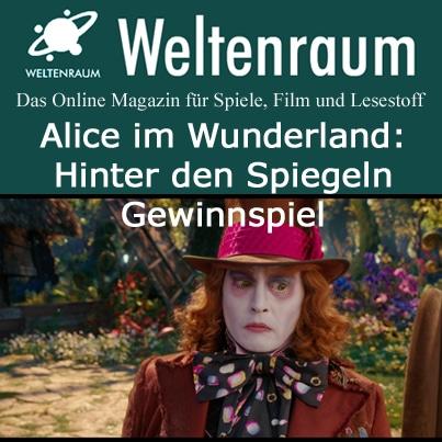 Gewinnspiel Alice im Wunderland