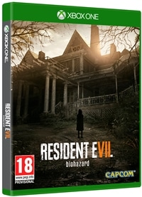Xbox One Cover - Resident Evil 7: Biohazard, Rechte bei Capcom