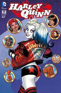 Comic Cover - Harley Quinn #9: Mörderische Leidenschaft, Rechte bei Panini Comics